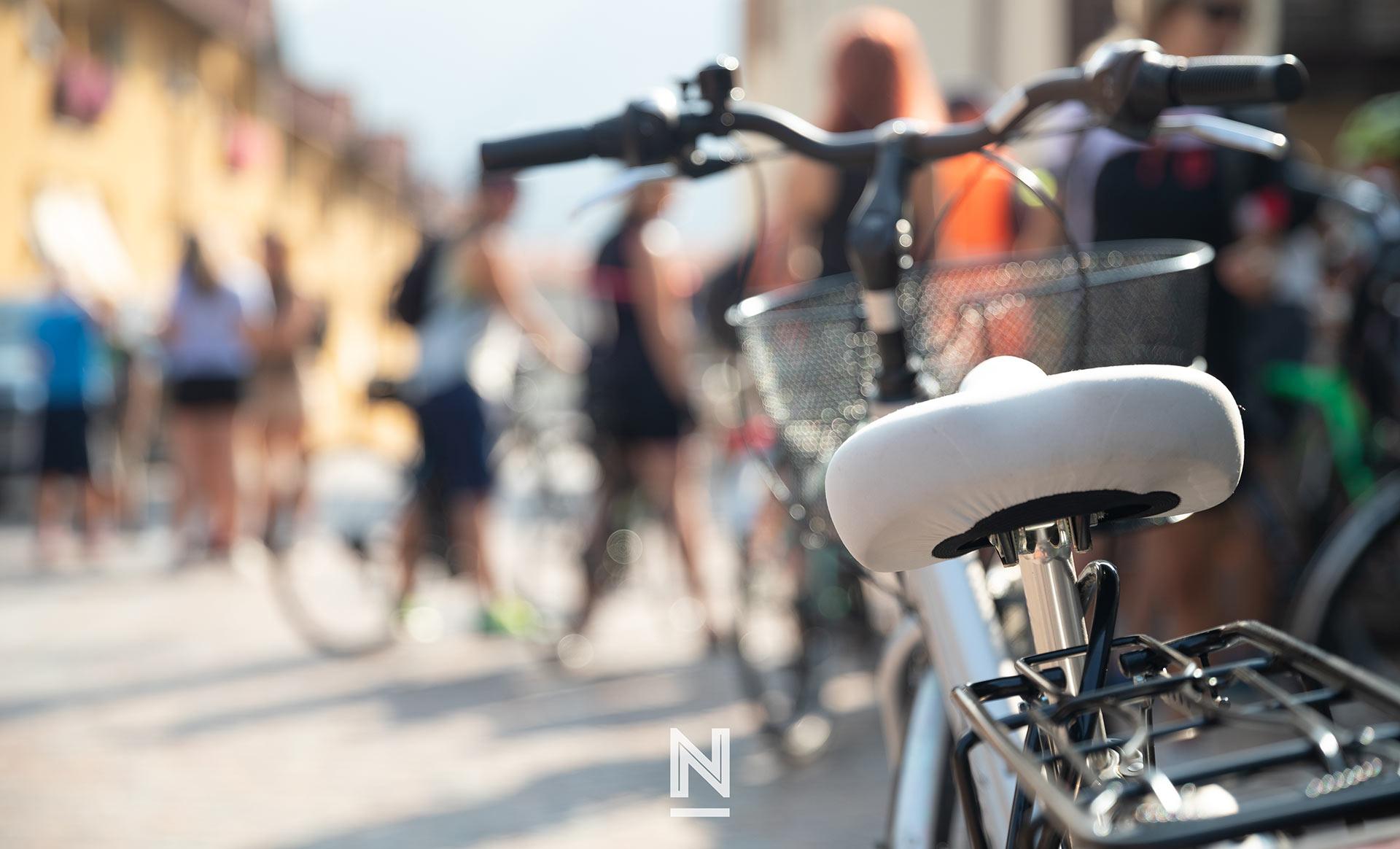 pedalando con gusto